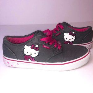 Women's Limited Edition VANS x Hello Kitty Sanrio Sneakers Size 9